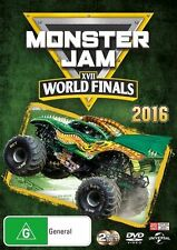 Monster Jam - World Finals XVII (DVD, 2016, 2-Disc Set)(Region 4) Aussie Release