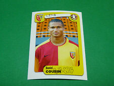 N°137 COUSIN RC LENS RCL BOLLAERT PANINI FOOT 2005 FOOTBALL 2004-2005