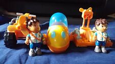Large Lot Mega Bloks Go Diego Go, Dora, Animals, Vehicles, Nick Jr. Lego pretend
