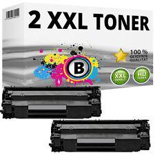 2x XXL TONER für HP LaserJet P1505N MFP M1120 M1120N M1522N M1522NF  36A CB436A