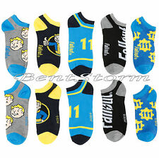 New Fallout 4 Vault Boy Thumbs Up 111 No Show 5 Pair Pack Low Cut Ladies Socks