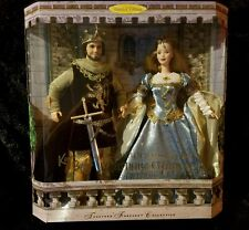 Barbie Ken Doll Camelot King Arthur Queen Guinevere Together Forever Gift Set
