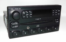 1998 - 2004 Ford AM FM CD Radio with Aux Input - World Plug - F87F-18C815-BB