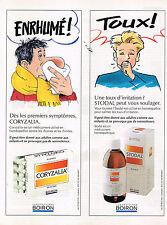 PUBLICITE ADVERTISING 034   1990   LABORATOIRES BOIRON  pour la toux & le rhume