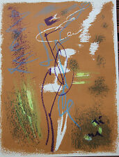 MASSON André - Lithographie lithograph Farblithografie 1963