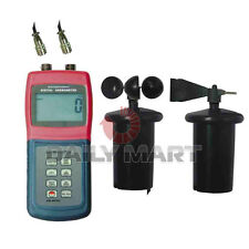 NEW AM-4836C Multi-function Thermo Cup Anemometer Air Flow Meter Wind Direction