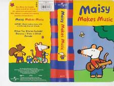 MAISY MAKES MUSIC VHS VIDEO PAL~ A RARE FIND IN EXCELLENT CONDITION