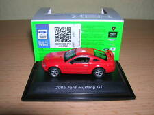 Welly Ford Mustang GT rot red Metall Modell / Baujahr 2005, 1:87 H0