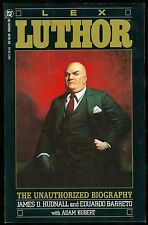 Lex Luthor The Unauthorized Biography, Hudnall, DC Comics Graphic Novel TPB 1989