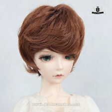 "9-10"" 1/3 BJD or 70cm BJD Wig Dollfie DREAM LUTS AOD DOD EID WIG Short Hair #101"