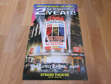 2nd Year THE RAT PACK Original STRAND Theatre Poster