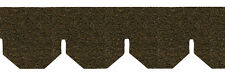Dollhouse Roofing Brown Hexagon Asphalt Shingles AS4004H Covers 177 Sq Inches