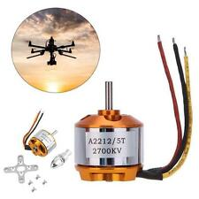 1x A2212 2700Kv Brushless Outrunner Motor For Airplane Aircraft Quadcopter RC MT