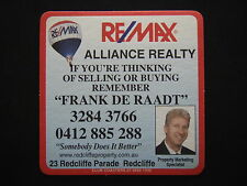 REMAX ALLIANCE REALTY FRANK DE RAADT 23 REDCLIFFE PDE 32843766 COASTER