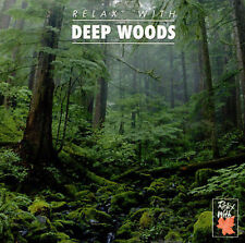 CD BRAND NEW Various Artists, Relax With Deep Woods, Free Ship U.S. P-357