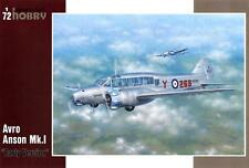 AVRO ANSON MK I (RAF & DUTCH AF MARKINGS) 1/72 SPECIAL HOBBY  RARE!