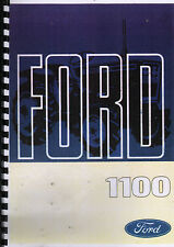 "Ford ""1100"" Compact Tractor Operator Manual Handbook"