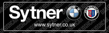BMW Sytner Alpina Rear Window Sticker (Replica)