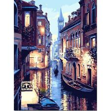 30*40cm DIY Digital Drawing Beautiful Venice Oil Painting By Number On Canvas A