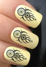 NAIL ART SET #361 x24 TRIBAL DREAMCATCHER WATER TRANSFER DECALS STICKERS TATTOO
