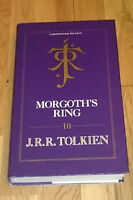 MORGOTH'S RING  _ HoME 10 _ Middle Earth _ Tolkien _ True 1st/1st HB RARE _VGC