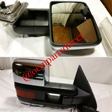 2014-2015 Chevrolet Silverado GMC Sierra HD Powerfold Tow Mirror OEM 2500HD NEW