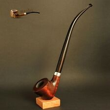 "HAND MADE TOBACCO SMOKING PIPE CHURCHWARDEN   Lord  Hobbit  9.8 "" LONG   Brown"