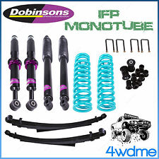 """Ford Ranger PX PX2 T6 4WD Dobinsons IFP Adjustable COMPLETE 2"""" 3"""" LIFT KIT"""