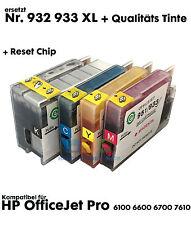 Cartuchos de repuesto Rellenar para HP OfficeJet Pro 6100 6600 6700 7610 + TINTA
