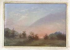 Pastell Gemälde Bild im Rahmen Frankreich / Schweiz um 1880
