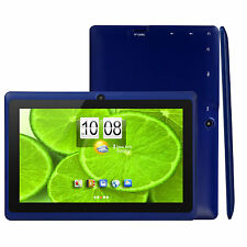 """7"""" inch Android 4.4 Quad Core Tablet PC MID 8GB Dual Camera Wifi Bluetooth Blue"""