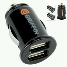 dual twin port USB 12 V car cigarette lighter charger adapter output(5V,2.1A)