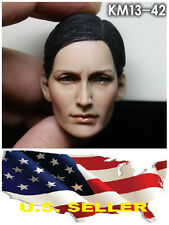 ❶❶KUMIK Carrie-Anne Moss 1/6 Head Sculpt for Custom HT Female Body US seller❶❶