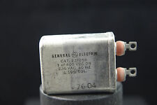 One NOS GE 1.0 uF 400 Vdc Oil Can Capacitor