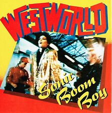 WESTWORLD sonic boom boy/mission impossible UK RCA45rpm_1987 MINT