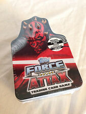 Topps Star Wars Force Attax Series 3 Trading Card Game in Tin Box (UK Version)