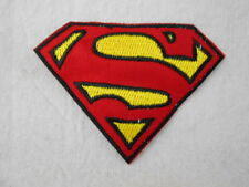 SUPERMAN EMBLEM  NEW EMBROIDERED IRON/SEW ON NAME PATCH