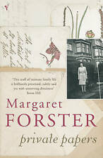 FORSTER,MARGAR-PRIVATE PAPERS  BOOK NEW
