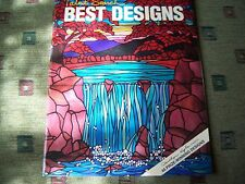 Talent Search Best Designs Stained Glass Pattern Book Project Carolyn Kyle NEW