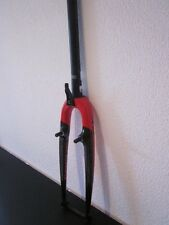 Focus, Full Carbon Tapered (CX) Cyclocross Fork, Black/Red, Brandnew