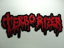TERRORIZER  EMBROIDERED BACK PATCH