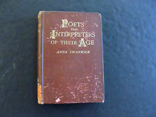 Poets The Interpreters Of Their Age by Anna Swanwick (1892)