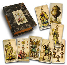 RARE Vintage ORIENTAL TAROT 1845 - 78 cards LIMITED EDITION 700 copies