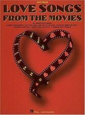 Love songs from the movies: Easy piano