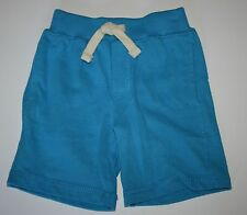 New Gymboree Hop N Roll Line Knit Cotton Pockets Pull On Blue Short Size 18-24 M