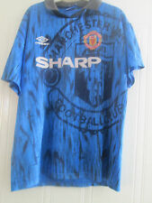 Manchester United Man Utd 1992-1993 Away Football Shirt Size Large /40623