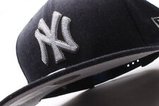 New York Yankees New Era 9Fifty Heather Crips Adjustable Snapback