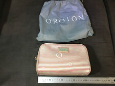 Women's Oroton Make Up / Cosmetic / Toiletry Bag - Brand New