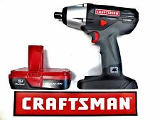 NEW CRAFTSMAN C3 19.2v VOLT 1/2 INCH IMPACT WRENCH GUN KIT + LITHIUM BATTERY
