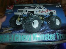Amt 1/25 USA-1 Chevy Monster Truck Model Car Mountain KIT OPEN